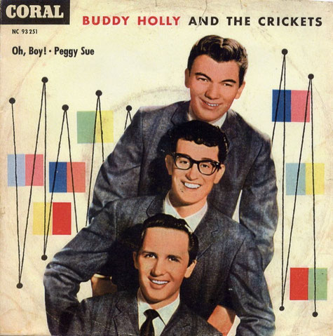 Buddy Holly And The Crickets - Oh, Boy! - Peggy Sue - Coral NC 93251