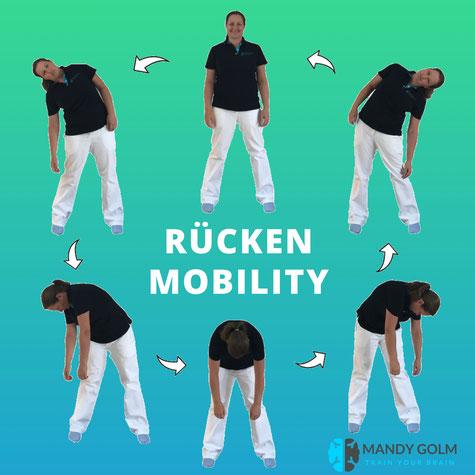 Rückenkurs, Mobility, Naturheilpraxis Golm