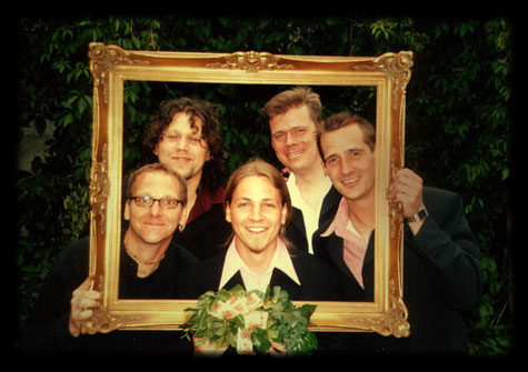 Kleine Besetzung....So fing es im Jahr 2003 an (v.l.n.r.): Martin Ballweg, Tino Kress, Dirk Michelsen, Ingo van Koll, Klaus Bahr