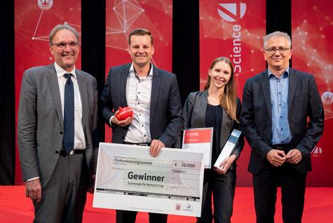 VARIOKAN Ivana Hrisova & Pierre Büttner - Gewinner Science4Life 2018