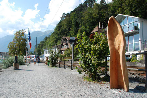 Inwendig, Skulptur von Gerhard Gerster, Symposium 2015