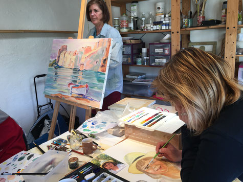 cours aquarelle aix en provence
