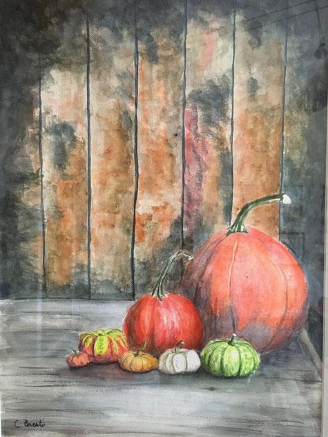 apprendre l'aquarelle aix en provence - atelier martineh - peinture provence