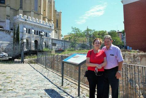 Madrid muralla musulmana y la Almudena