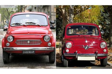 Fiat 500 Seat 600