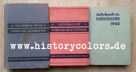 Taschenbuch für die Farben- und Lackindustrie Taschenbuch der Farben- und Werkstoffkunde Jahrbuch für Lackierbetriebe