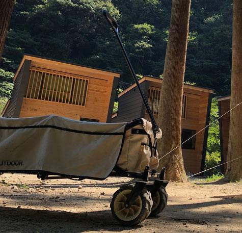 運搬用のキャリアワゴン