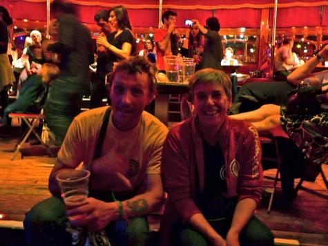 Jen et Phil au Cabaret Sauvage