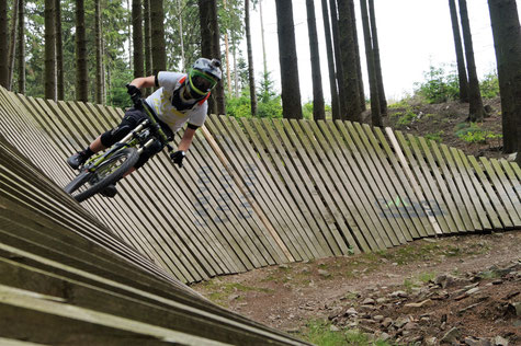 Wall Ride in Bad Ems, Emser Bikepark