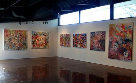 Elizabeth Williams at Gallery Nord, San Antonio, TX