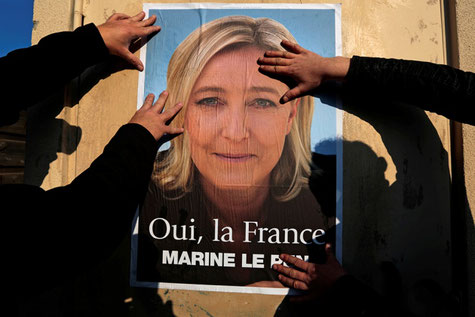 M. Le Pen en couverture de Nature en ligne