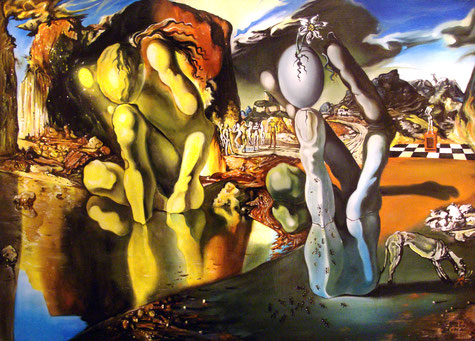 Dali, Métamorphose de Narcisse, 1937