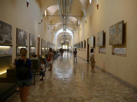 Galerie Léonard de Vinci, musée des sciences et techniques Milan (photo JPL)