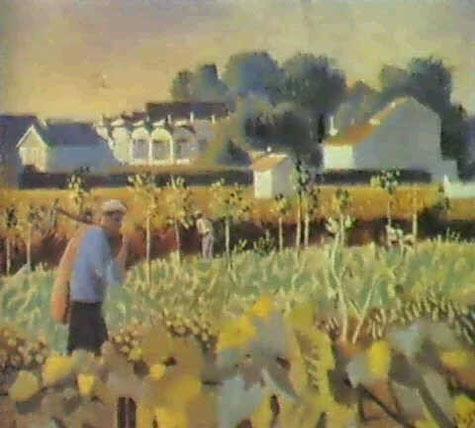 Le potager du Mas de Fourques, Jean Hugo