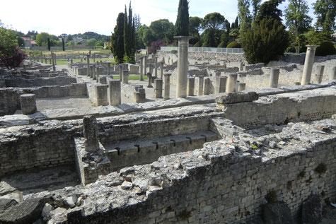 Les villas romaines du site de la Villasse