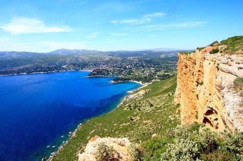 La route des crêtes, les plus hautes falaises d'Europe