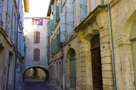 Beaucaire die Patrizierhäuser