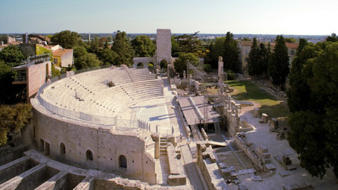 Arles, le théâtre antique