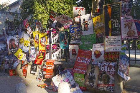 1000 Stücken und mehr für Avignon theater festival :  Intensiv Wettbewerb