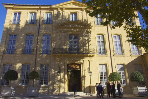 Die Hotel de Caumont Villa in Aix-en-Provence