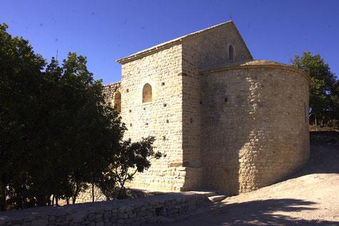 La chapelle Saint-Hilaire au dessus de Beaumes-de-Venise
