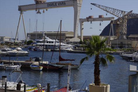 La ciotat, les chantiers navals
