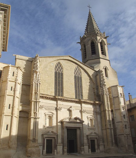 Saint-Siffrein Kathedrale in Carpentras