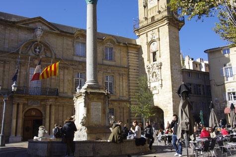 L'hôtel de ville d'Aix-en-Provence