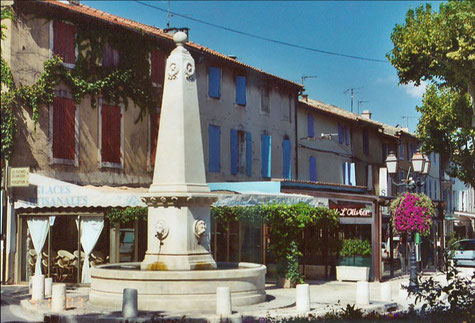 Saint-remy-de-Provence in the Alpilles region