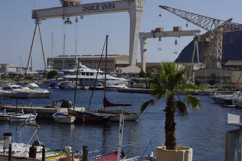 La ciotat, the shipyards