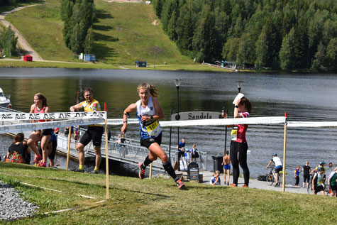 Sprint at Fin5 in Tahko