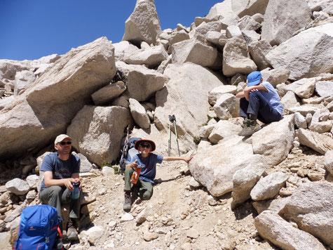 Aufstieg zu Glen Pass