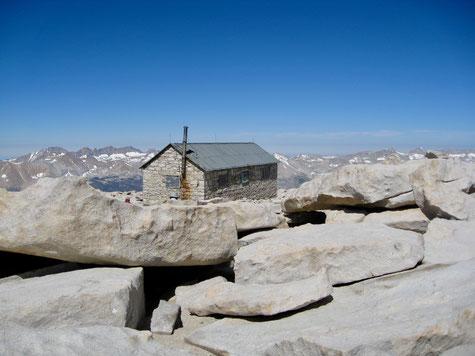Top of Mount Whitney, 14.505 Feet (4.421 Meter)
