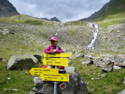 Entlang des Wildwasser-Gletschererlebniswegs