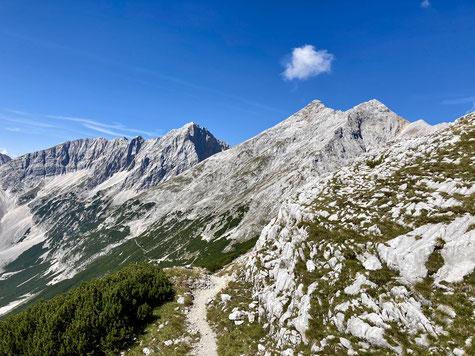 Unterwegs im Karwendel Gebirge