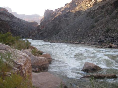 Die Hermit Rapids des Colorado Rivers im Grand Canyon