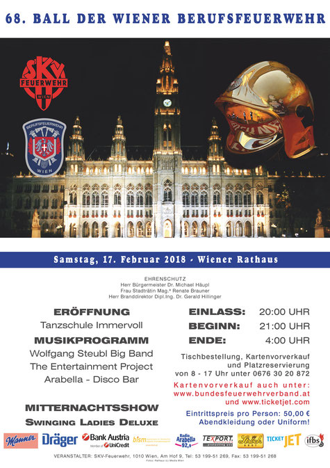 Feuerwehrball Wien 2018