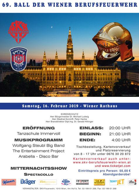 Feuerwehrball Wien 2019