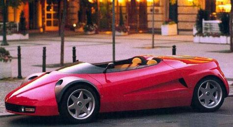 Michalak Conciso Alu-Karosserie auf Basis Ferrari 328