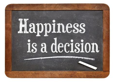 Felicidad es una decision