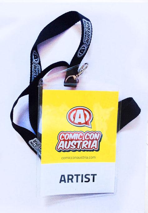 Lohnzeichnergilde OÖ bei der Comic Con Austria 2017