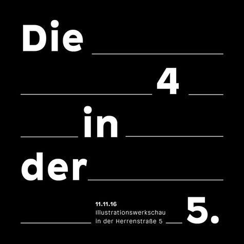 Die 4 in der 5ten Ausstellung Carina Lindmeier & Lisa Arnberger