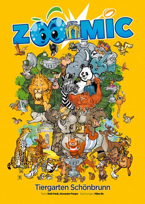 """""""Zoomic"""" - Tiergarten Schönbrunn Comic von Milan A. Ilic"""