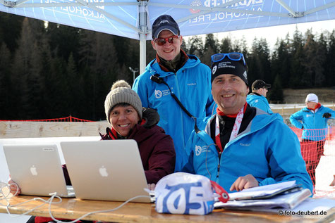 v. l. Gerda Weder, Nico Hollenstein und Christian Weder