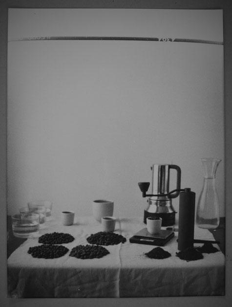 Kaffee, Stillleben, Analoge Photographie, Genauigkeit, Kaffeestillleben