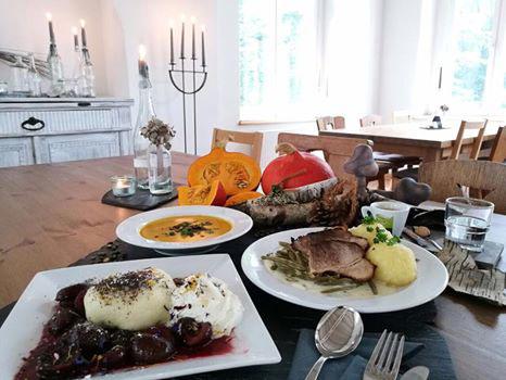 """vegetarische Gericht in der Bergwirtschaft """"Großer Winterberg"""""""