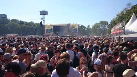 Papa Roach auf der Bühne