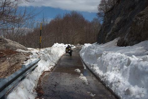 verbotene Wege zum Monti Simbruini