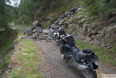 Auffahrt zum Mt. Jafferau die Zweite