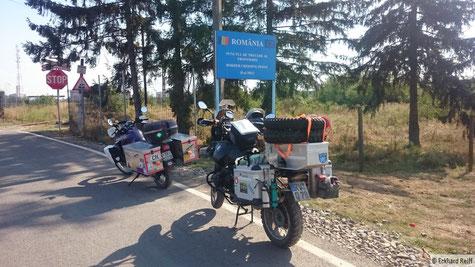 Grenzübergang zu Rumänien